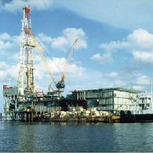 2,000HP ELECTRIC BARGE DRILLING RIG