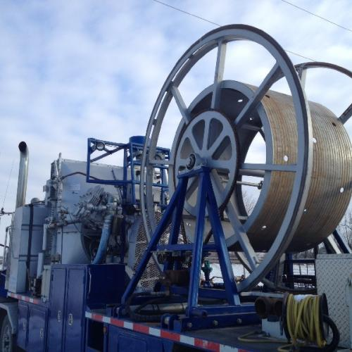 Used Coiled Tubing Unit for sale