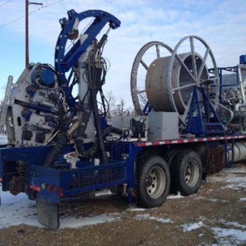 International Tandem Coiled Tubing Unit