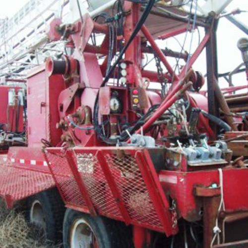 Failing Drilling Package -- Trailer Mounted