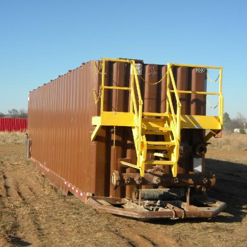 500 BARREL, INTERNALLY COATED FRAC TANK
