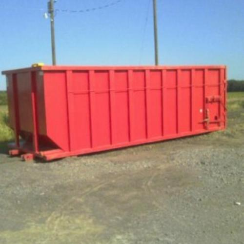 25 yard Dewatering Box