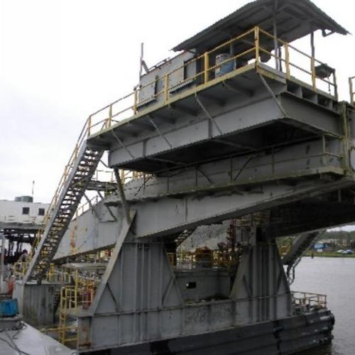 1500HP DC Drilling Barge Rig