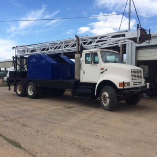 used Swab Rig --1994 International