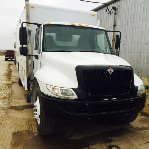 2005 international Eline cased hole wireline  truck