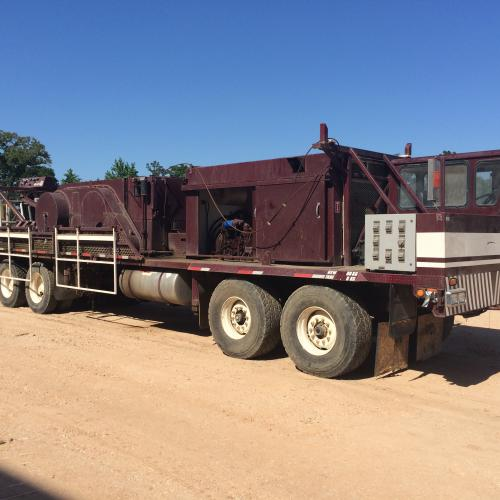 Well Service Rig -- COOPER LTO-350