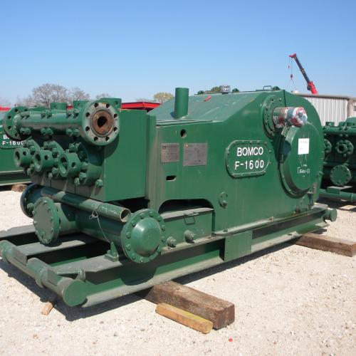 Mud Pumps -- Bomco 1600hp Triplex Mud Pump
