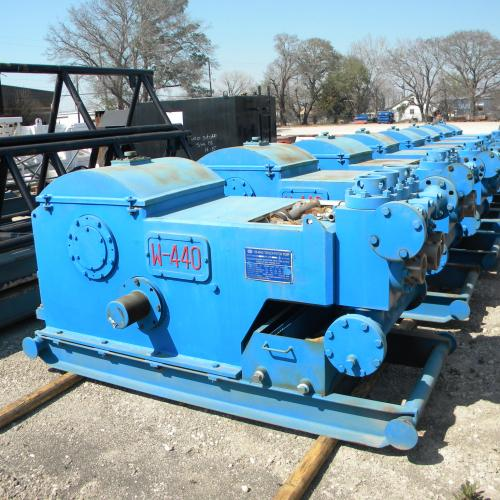 Mud Pumps -- unused, New 440hp Triplex