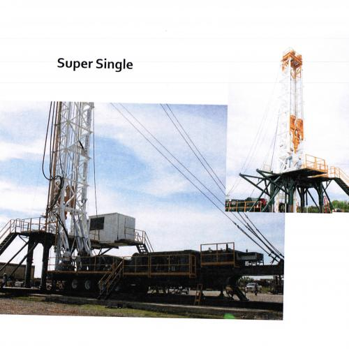 Drilling Rig - Super Single 800HP