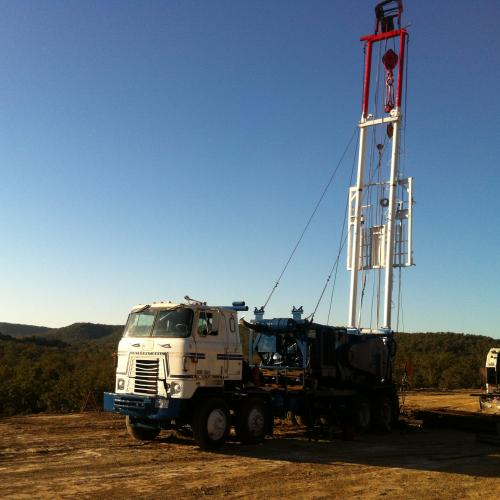 Well Service Rig  Double Pole