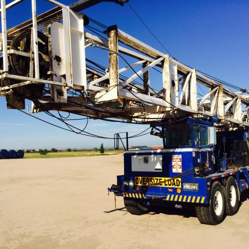 Used Well Service Rig -- Cooper LTO 350