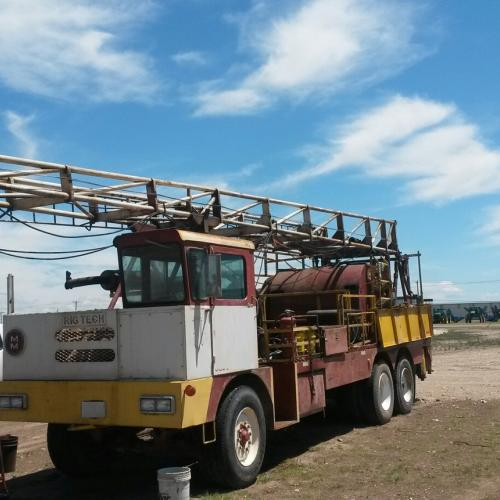USED Swab Rig -- Moeller Mesa Draw Works