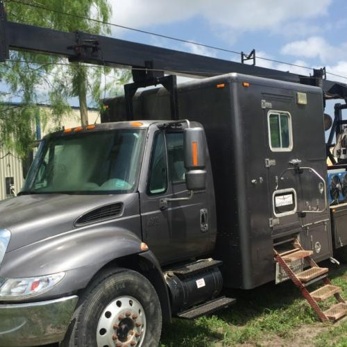 Used Slick line-Wireline truck for sale