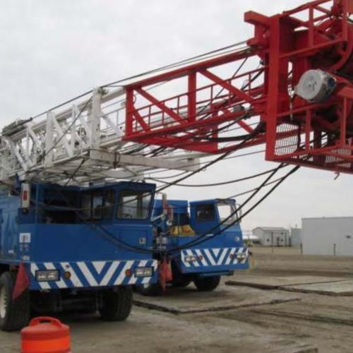 1981 Mainland  Double Drum Double Mast Workover Rig